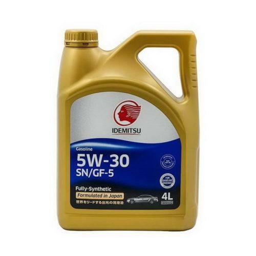 Синтетическое Моторное Масло Idemitsu 5w-30