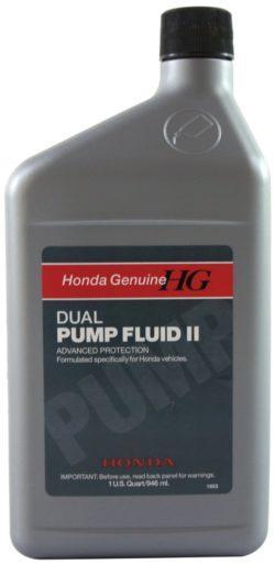Гидравлическая Жидкость Honda DUAL PUMP FLUID II(задний мост)
