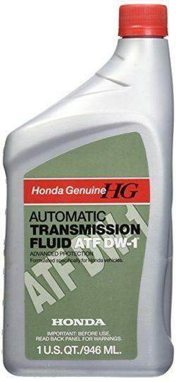 Трансмиссионная Жидкость Honda ATF DW-1