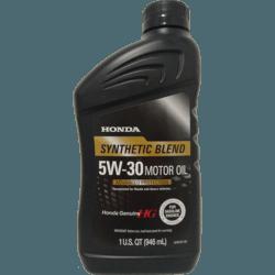 Полусинтетическое Моторное Масло Honda Genuine 5W-30 Synthetic Blend