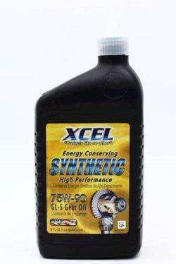 Гидравлическая Жидкость Xcel Energy Conserving Synthetic High Performance 75W-90