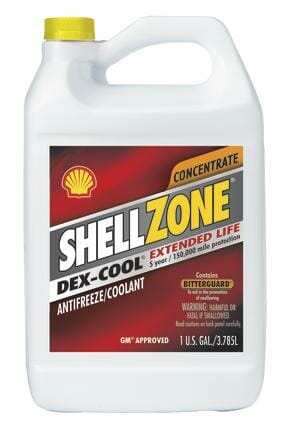 Антифриз концентрат красный Shell Zone Dex-Cool