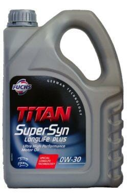 Синтетическое Моторное Масло TITAN SuperSyn LongLife PLUS 0w-30
