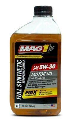 Синтетическое Моторное Масло MAG 1 FMX 5w-30 European Formula