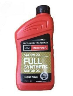 Cинтетическое Моторное Масло Motorcraft Full Synthetic Motor Oil 5W-20
