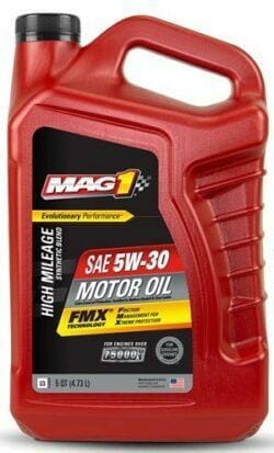 Полусинтетическое Моторное Масло MAG 1 High Mileage Synthetic Blend 5w-30