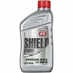 Полусинтетическое Моторное Масло Phillips 66 Shield Choice 10w40
