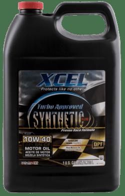Полусинтетическое Моторное Масло Xcel Synthetic Blend 10W-40