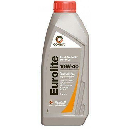 Полусинтетическое моторное масло Comma EuroLite 10W-40