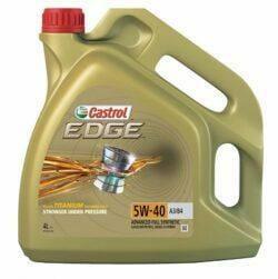 Синтетическое Моторное Масло Castrol EDGE 5w-40 A3/B4
