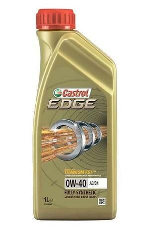 Синтетическое Моторное Масло Castrol EDGE 0w-40 A3/B4