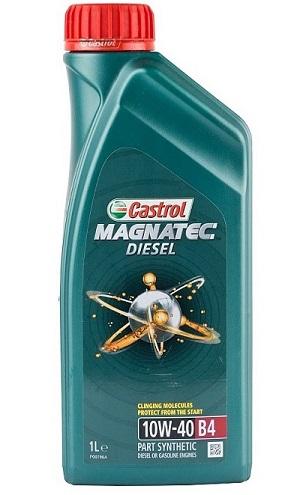 Полусинтетическое Моторное Масло CASTROL MAGNATEC DIESEL 10W-40 A3/B4
