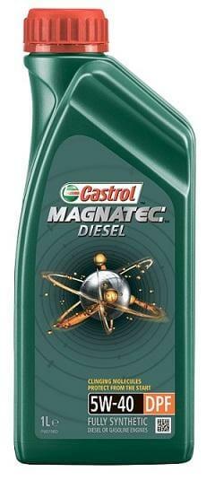 Синтетическое Моторное Масло CASTROL MAGNATEC DIESEL 5W-40 DPF