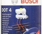 Гидравлическая Тормозная Жидкость BOSCH Brake Fluid DOT 4