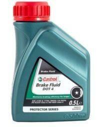 Гидравлическая Тормозная Жидкость Castrol Brake Fluid DOT 4