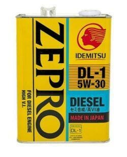 Синтетическое Моторное Масло Idemitsu ZEPRO 5w-30 Diesel DL-1