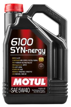 Cинтетическое Моторное Масло MOTUL 6100 Syn-Nergy 5w40