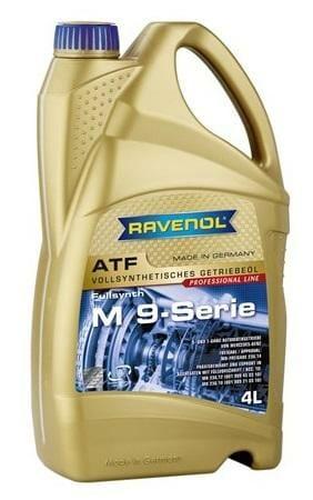 Трансмиссионная Жидкость RAVENOL ATF M 9-Serie