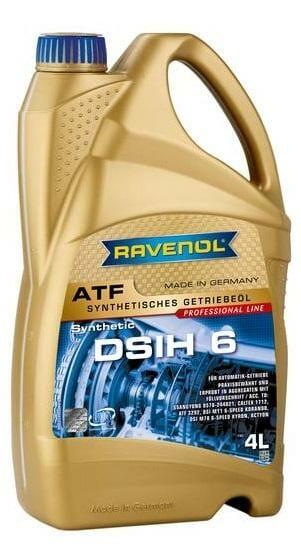 Трансмиссионная Жидкость RAVENOL ATF DSIH 6