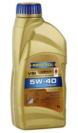 Cинтетическое Моторное Масло RAVENOL VSI 5w40
