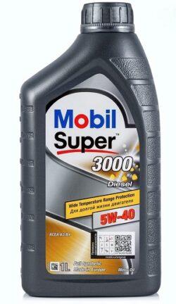 Синтетическое Моторное Масло Mobil 3000 X1 Diesel 5w40