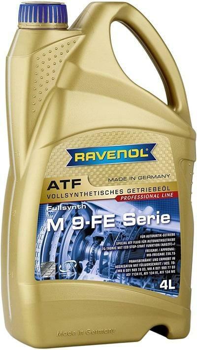 Трансмиссионная Жидкость RAVENOL ATF M 9-FE Serie