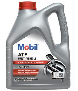 Трансмиссионная Жидкость Mobil ATF Multi-Vehicle